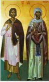 The Holy Martyrs Timothy and Mavra